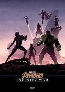 Vingadores: Guerra Infinita - Poster / Capa / Cartaz - Oficial 40