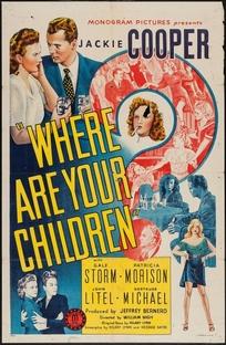 Where are you children? - Poster / Capa / Cartaz - Oficial 1