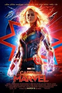 Capitã Marvel - Poster / Capa / Cartaz - Oficial 13