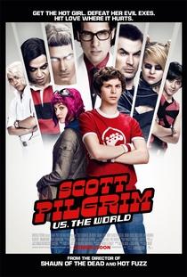 Scott Pilgrim Contra o Mundo - Poster / Capa / Cartaz - Oficial 7