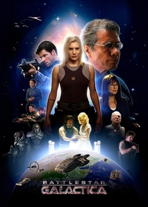 Battlestar Galactica (3ª Temporada) - Poster / Capa / Cartaz - Oficial 10