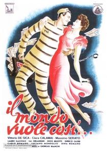 Il Mondo Vuole Così - Poster / Capa / Cartaz - Oficial 1