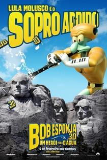Bob Esponja: Um Herói Fora D'Água - Poster / Capa / Cartaz - Oficial 12
