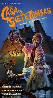 A Casa das Sete Tumbas - Poster / Capa / Cartaz - Oficial 1