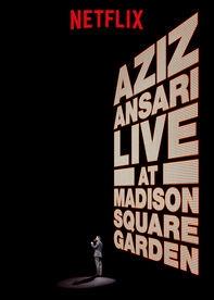 Aziz Ansari Live at Madison Square Garden - Poster / Capa / Cartaz - Oficial 1