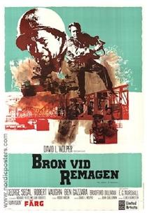 A Ponte de Remagen - Poster / Capa / Cartaz - Oficial 4