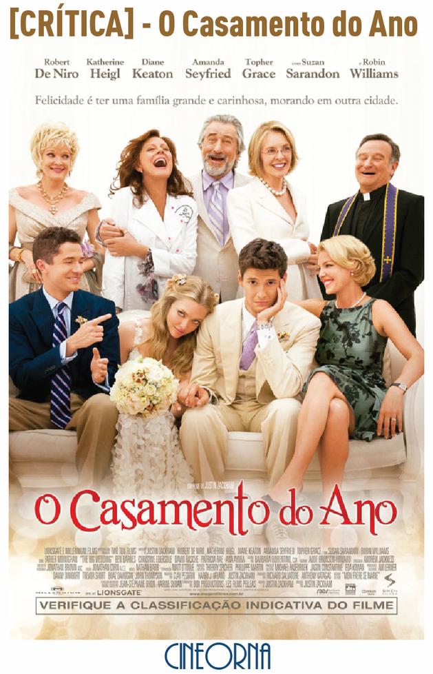 "[CRÍTICA] – ""O Casamento do Ano"""