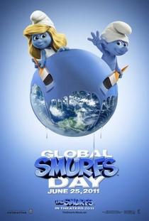 Os Smurfs - Poster / Capa / Cartaz - Oficial 5