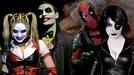 Joker & Arlequina vs Deadpool & Domino (Joker & Arlequina vs Deadpool & Domino)