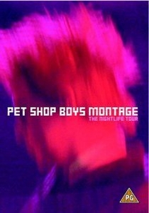 Pet Shop Boys Montage - The Night Life Tour - Poster / Capa / Cartaz - Oficial 1