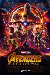 Vingadores: Guerra Infinita - Poster / Capa / Cartaz - Oficial 7