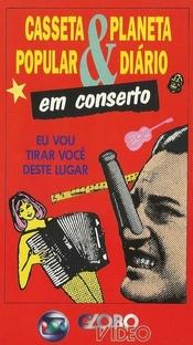 Casseta Popular e Planeta Diário - Em Conserto - Poster / Capa / Cartaz - Oficial 1