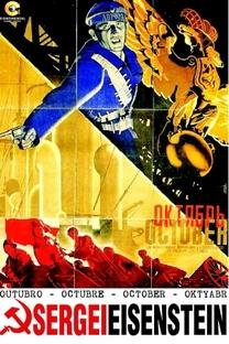 Outubro - Poster / Capa / Cartaz - Oficial 10