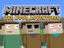 Minecraft - The N00b Adventures - Poster / Capa / Cartaz - Oficial 1