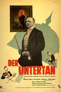 Der Untertan - Poster / Capa / Cartaz - Oficial 1