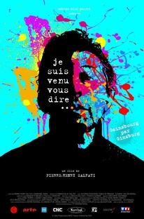 Gainsbourg por Gainsbourg - Poster / Capa / Cartaz - Oficial 3