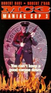 Maniac Cop 3 - O Distintivo do Silêncio - Poster / Capa / Cartaz - Oficial 4