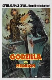 Godzilla vs. Megalon - Poster / Capa / Cartaz - Oficial 2
