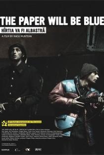 Hîrtia va fi albastrã - Poster / Capa / Cartaz - Oficial 1