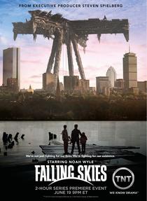 Falling Skies (1ª Temporada) - Poster / Capa / Cartaz - Oficial 2