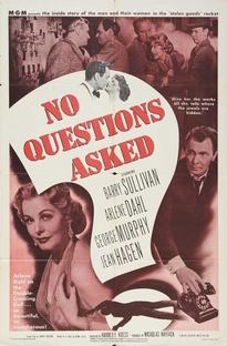 No Questions Asked - Poster / Capa / Cartaz - Oficial 1