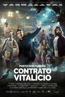 Porta dos Fundos - Contrato Vitalício - Poster / Capa / Cartaz - Oficial 1