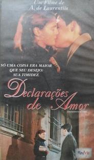 Declarações de Amor - Poster / Capa / Cartaz - Oficial 1