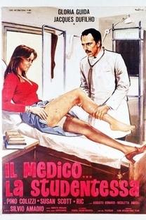O Médico e a Estudante - Poster / Capa / Cartaz - Oficial 1
