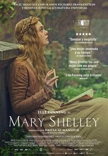 Mary Shelley - Poster / Capa / Cartaz - Oficial 3