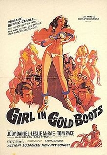 Girl in Gold Boots - Poster / Capa / Cartaz - Oficial 1