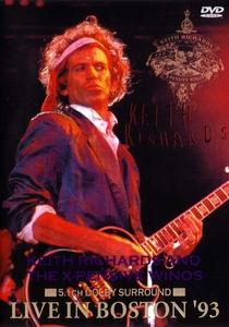 Keith Richards - Live In Boston '93 - Poster / Capa / Cartaz - Oficial 1