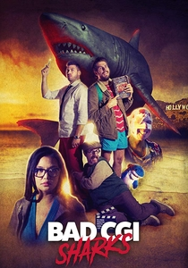 Bad CGI Sharks - Poster / Capa / Cartaz - Oficial 1