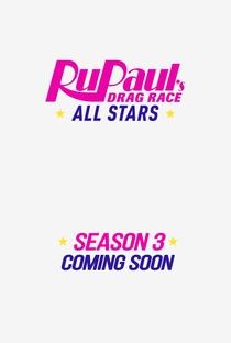RuPaul's Drag Race: All Stars (3ª Temporada) - Poster / Capa / Cartaz - Oficial 2