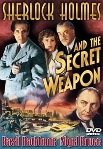Sherlock Holmes e a Arma Secreta - Poster / Capa / Cartaz - Oficial 3