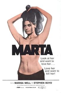 Marta, A Mulher Insaciável - Poster / Capa / Cartaz - Oficial 5
