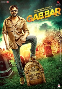 Gabbar is Back - Poster / Capa / Cartaz - Oficial 1
