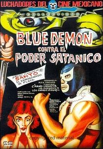 Blue Demon vs. el Poder Satánico - Poster / Capa / Cartaz - Oficial 1