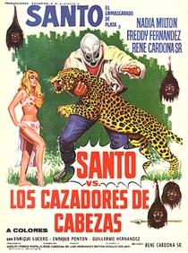 Santo Contra los Cazadores de Cabezas - Poster / Capa / Cartaz - Oficial 1