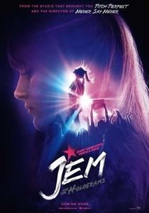 Jem e as Hologramas - Poster / Capa / Cartaz - Oficial 1