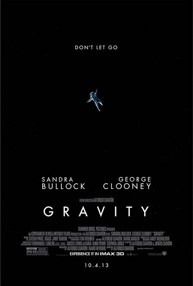 """Gravidade"" ganha pôster IMAX"