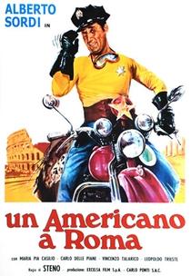 Um Americano em Roma - Poster / Capa / Cartaz - Oficial 1