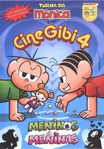 Turma da Mônica: CineGibi 4 - Meninos e Meninas - Poster / Capa / Cartaz - Oficial 1
