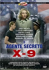 Agente Secreto X-9 - Poster / Capa / Cartaz - Oficial 1
