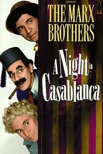Uma Noite em Casablanca - Poster / Capa / Cartaz - Oficial 8