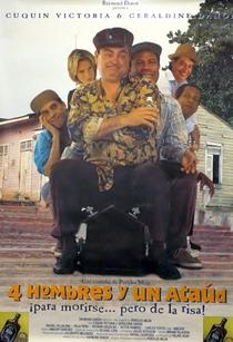 Cuatro hombres y un ataúd - Poster / Capa / Cartaz - Oficial 1