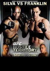 UFC 77: Hostile Territory - Poster / Capa / Cartaz - Oficial 1