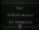 The Violin Maker of Cremona