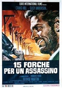 15 Forcas para um Assassino - Poster / Capa / Cartaz - Oficial 2