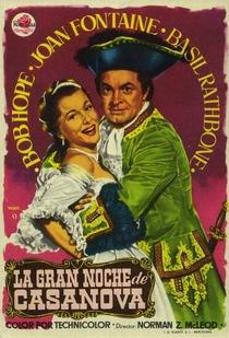 A Grande Noite de Casanova - Poster / Capa / Cartaz - Oficial 2