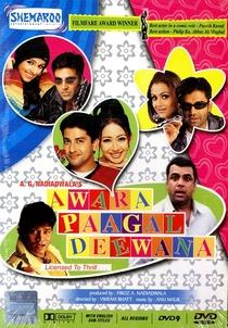 Awara Paagal Deewana - Poster / Capa / Cartaz - Oficial 4